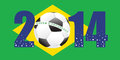 Rio world cup fifa football soccer Stock Photography