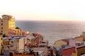 Riomaggiore, cinque terra, Royalty Free Stock Photo