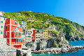 Riomaggiore, Cinque Terre national park, Italy Royalty Free Stock Photo