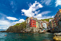 Riomaggiore, Cinque Terre national park, Liguria, Italy Royalty Free Stock Photo