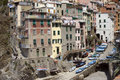 Riomaggiore cove Royalty Free Stock Photo