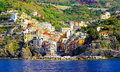 Riomaggiore panorama Royalty Free Stock Photography