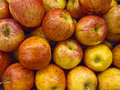 Ripe apple background Stock Images