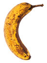 Ripe Banana with path Stock Photos