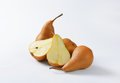 Ripe Bosc pears Royalty Free Stock Photo