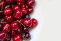 Ripe cherries image of red Royalty Free Stock Images
