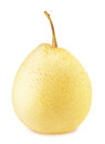Ripe chinese pear isolated