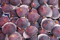 Ripe figs violet fig fruit background Stock Image