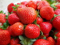 Ripe fresh strawberry Royalty Free Stock Photo