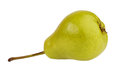 Ripe green pear Stock Image