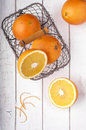 Ripe oranges Royalty Free Stock Images