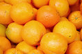 Ripe oranges fruit Stock Photos