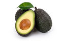 Ripe Organic Avocado Royalty Free Stock Photography