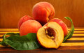 Ripe peach Royalty Free Stock Photo
