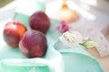 Ripe peaches Royalty Free Stock Photo
