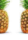 Ripe pineapple Royalty Free Stock Photos