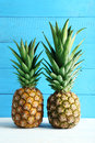 Ripe pineapples Royalty Free Stock Photo