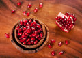 Ripe pomegranate Royalty Free Stock Photos