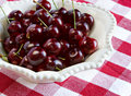 Ripe sweet cherries Royalty Free Stock Photos