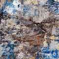 Ripped grunge poster wall background Stock Image