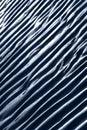 Ripple marks on sand Stock Image