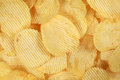 Rippled chips Royalty Free Stock Photo