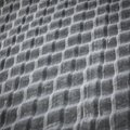 Rippled Metal Texture from Grain Bins Royalty Free Stock Photo