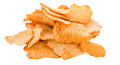 Rippled Potato Chips Royalty Free Stock Photo