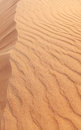 Rippled sand in desert nature background Stock Images