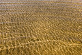 Ripples on gold ocean Royalty Free Stock Photos