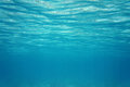 Ripples under water surface in the sea caribbean Stock Image