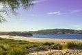 Ris beach in Noja, Cantabria Royalty Free Stock Photo