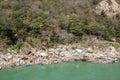 Rafting on Ganga river near Rishikesh, Uttarkhand, India Royalty Free Stock Photo