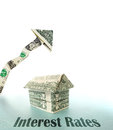 Rising Interest Rates Royalty Free Stock Photo