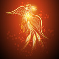Rising phoenix Royalty Free Stock Photo