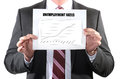 Rising unemployment rates with graphs Royalty Free Stock Photo