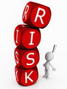 Risk Stock Photo