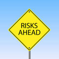 Risks Ahead Royalty Free Stock Photos