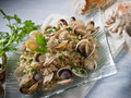 Risotto with clam Royalty Free Stock Images