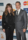 Rita Wilson, Tom Hanks Royalty Free Stock Photography