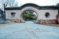 Ritan park old gate in chaoyang district beijing china Stock Photos