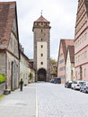 Rithenburg ob der Tauber Royalty Free Stock Images