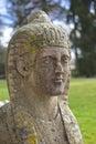 Ritratto di pietra della sfinge Fotografia Stock