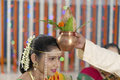 Ritual in Indian Hindu wedding Royalty Free Stock Photo