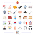 Ritual, travel, holiday and other web icon in cartoon style.war, weapons, cooking icons in set collection.