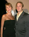 Ritz carlton jay mohr nikki cox nbc tca press tour party pasadena hotel padadena ca january Royalty Free Stock Image