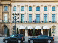 The Ritz hotel in Paris, France Royalty Free Stock Photo