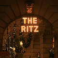 The Ritz hotel sign Royalty Free Stock Photography
