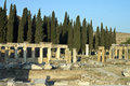 Riuns of ancient city Hierapolis Royalty Free Stock Image