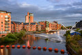 River Aire Leeds Royalty Free Stock Photo